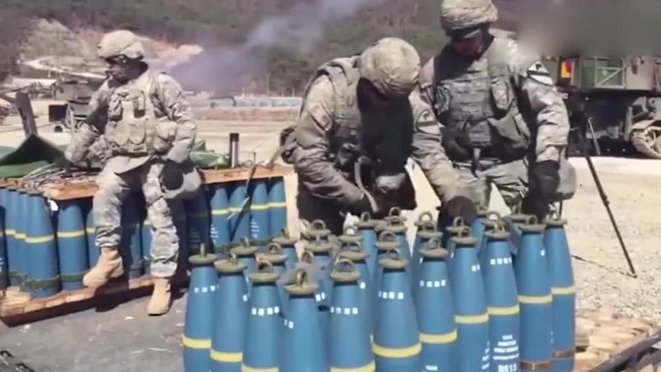 """美军火炮旅的日常训练,炮弹管够,随便""""造""""!"""