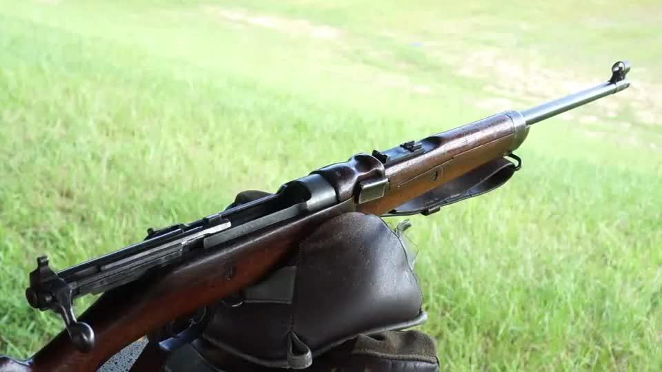 不为人知的罗斯MkII直拉式栓动步枪,这加弹方式还是头回见