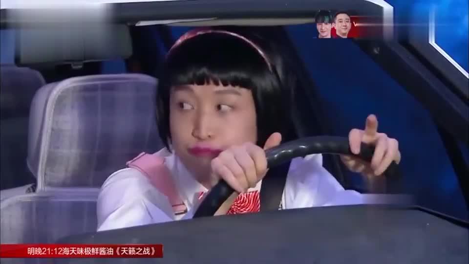 青岛大姨练车闹笑话,连基本的路标都不认识,教练满脸无奈!