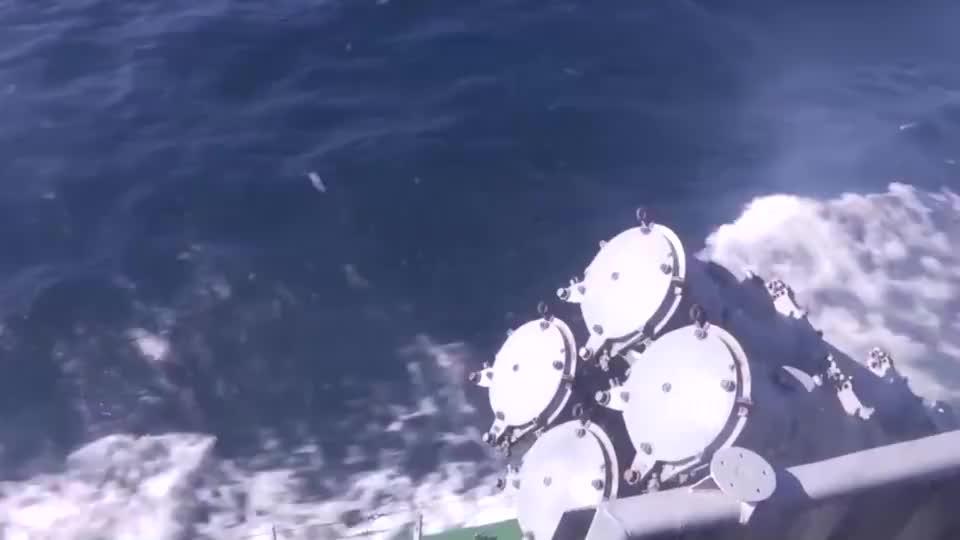 俄罗斯太平洋舰队在日本海发射KH-35反舰巡航导弹