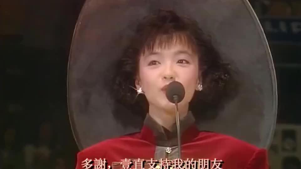 陈慧娴小公主,在最巅峰时期的她,却选择了去留学