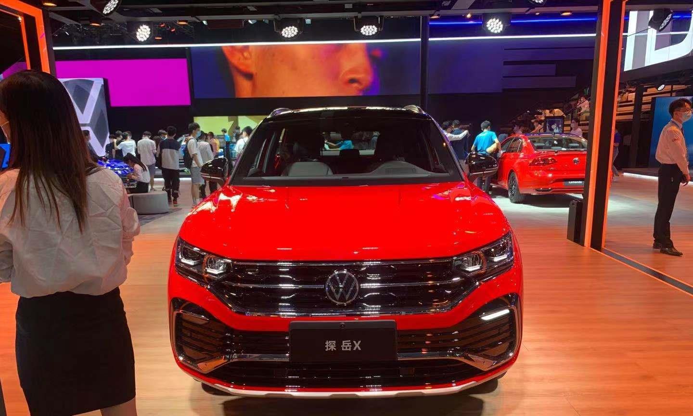 2020年广州车展,大众探岳X,个性又运动的造型,真香