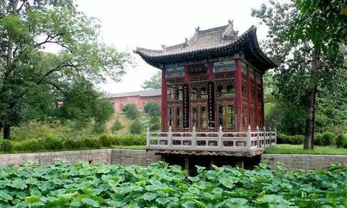 中国现存唯一的隋代官家园林,国家重点公园,山西省绛守居园池