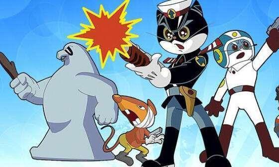 看了二十几年的黑猫警长,头一次知道他还有名字!不过有点low