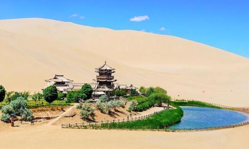"""我国这个沙漠奇观,只剩""""半口气"""",靠每年600万方的补水续命"""