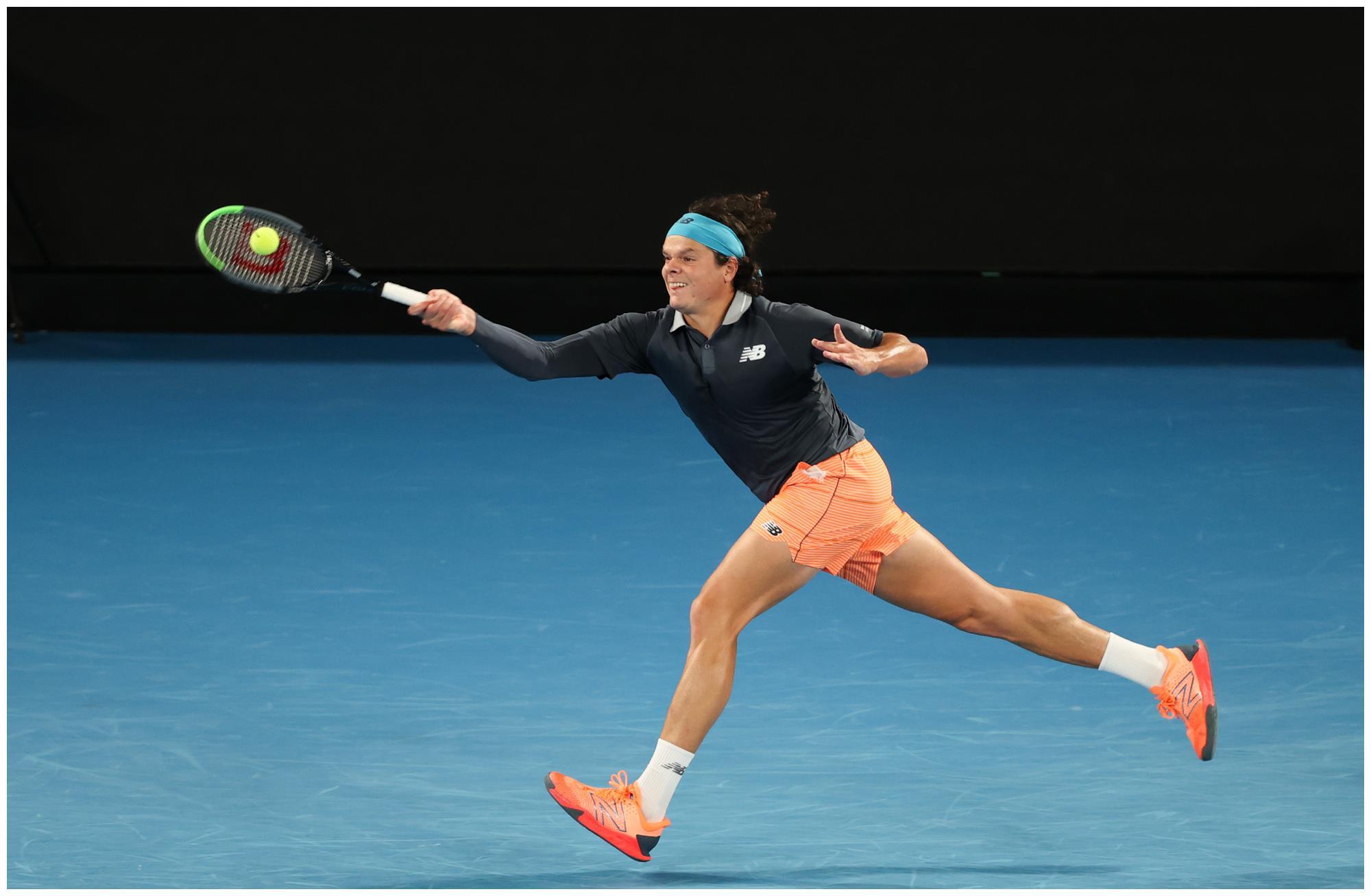 网球——澳网:焦科维奇对阵拉奥尼奇