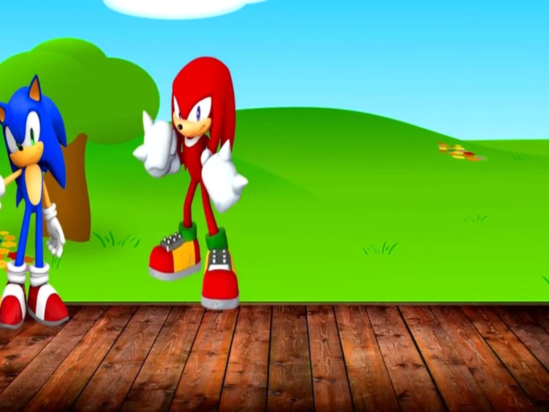 来解救刺猬索尼克和他的朋友们吧!少儿色彩启蒙,益智早教动画