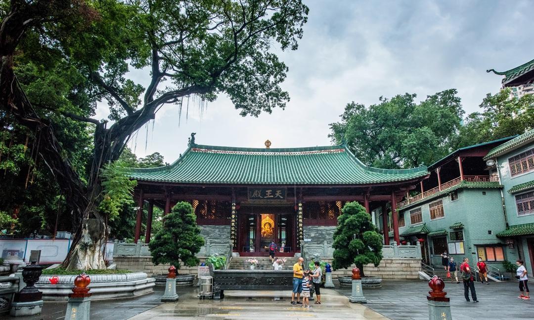 广州四大丛林之冠,是岭南少有的园林寺庙,曾开辟为外国人游览区