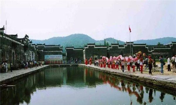 江西最美村落,藏在山水墨画中!