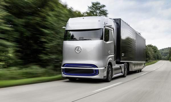 奔驰推出GenH2氢能概念卡车五年后量产