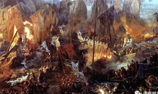 """鄱阳湖水战中的""""碗口统""""战船为什么是世界上最早的炮视?"""