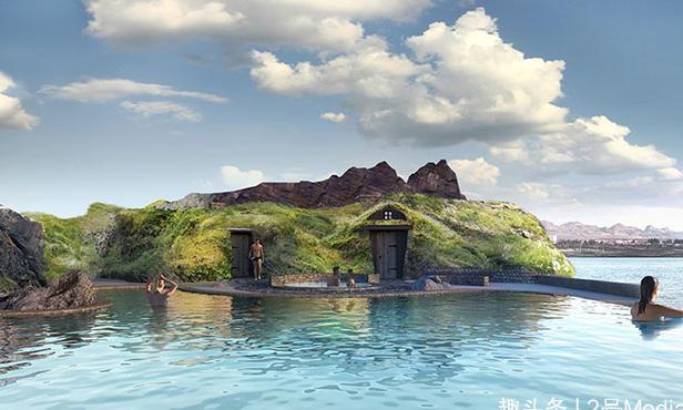 明年冰岛将开放这个豪华的泻湖,有游泳酒吧和令人难以置信的景色
