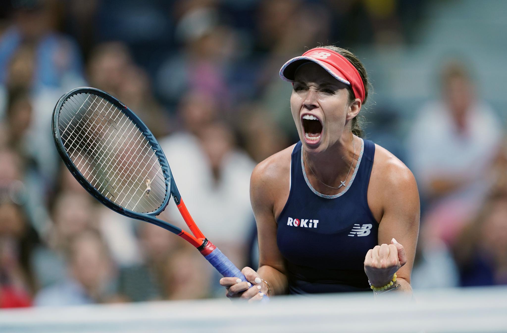 网球——美网:沃兹尼亚奇晋级