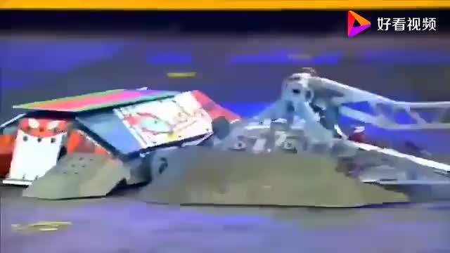 机器人也玩防守反击!