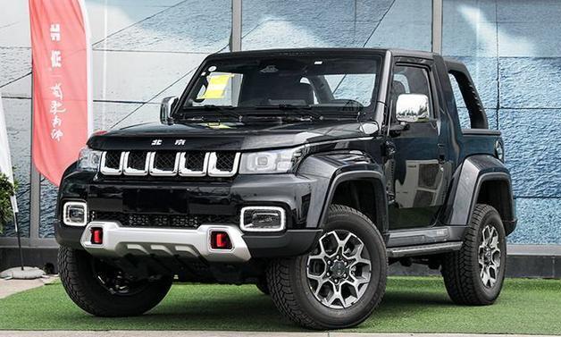 长得像SUV的短轴皮卡,新款北京F40正式上市
