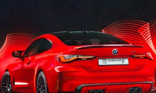 最大功率达到370kW,全新宝马M4最新渲染图曝光