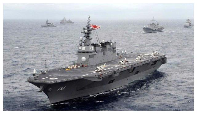 俄海军18艘军舰齐出动,日本海自反应迅速,有野心也有实力