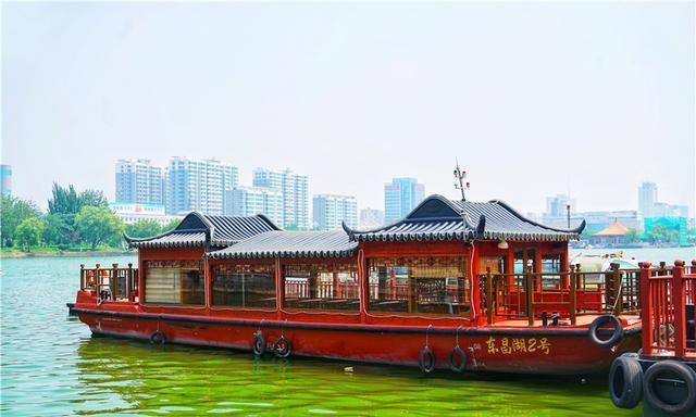 山东聊城竟然有个和杭州西湖齐名的城中湖,景美如画宛如仙境