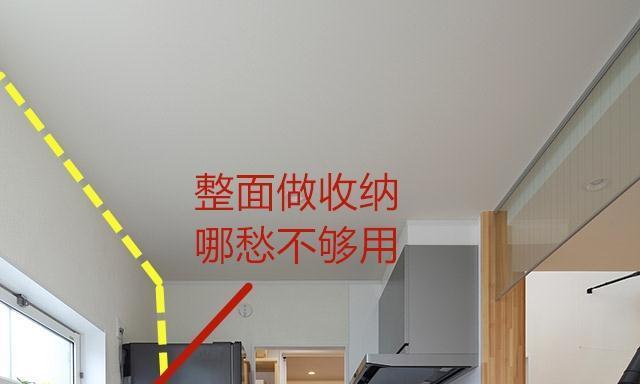 还是日本聪明,灶台后腾空,靠搁板移门,一面墙搞定家电锅具收纳