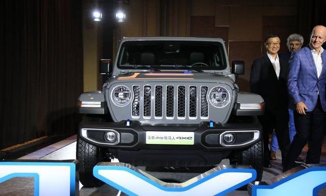 Jeep牧马人4×e正式发布,提供三款车型