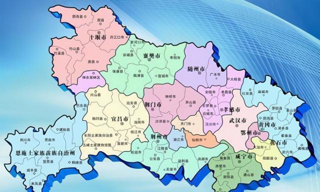 湖北省的两个县,名字都是清朝皇帝所赐,有你的家乡吗?