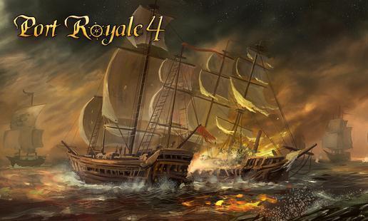 《海商王4》公布过场CG图 战舰对决,争夺海上霸权