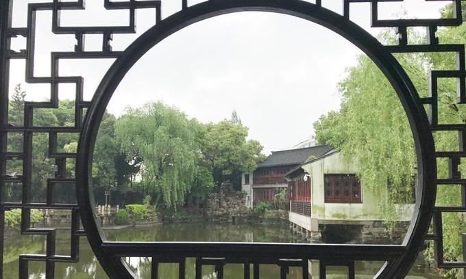 游常熟曾赵园:江南著名古典园林,苏州园林风格