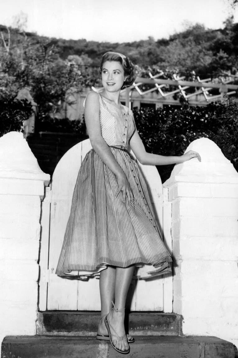 格蕾丝-凯丽的时尚档案录