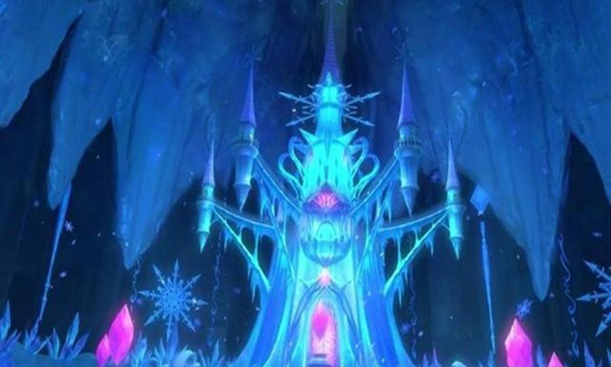 叶罗丽:颜爵的宫殿曝光,原来他这么有品位,可以呼吸新鲜空气
