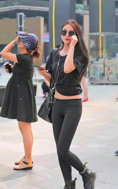 短靴是美丽姑娘的专属,穿出时尚个性与风格