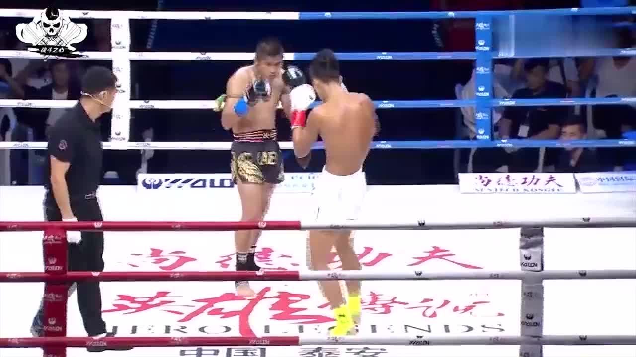 不愧是曾经的世界第一,刘威被考打的眉骨裂开,仅邱建良是他对手
