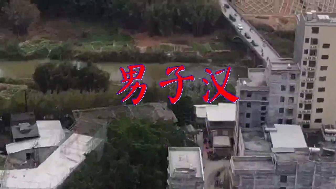 DJ何鹏的《男子汉》,此曲铿锵有力,放松音乐