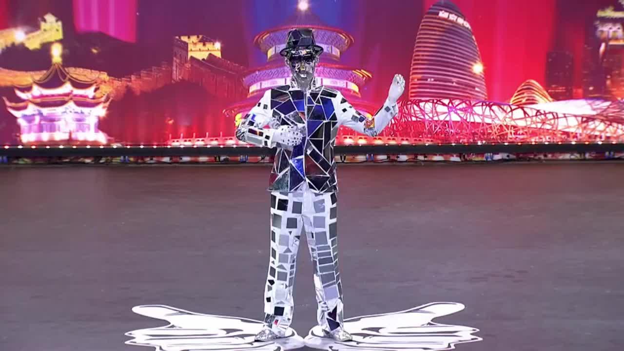 出彩中国人:北漂小伙出彩舞台,创意舞蹈表演,周立波喝彩叫好