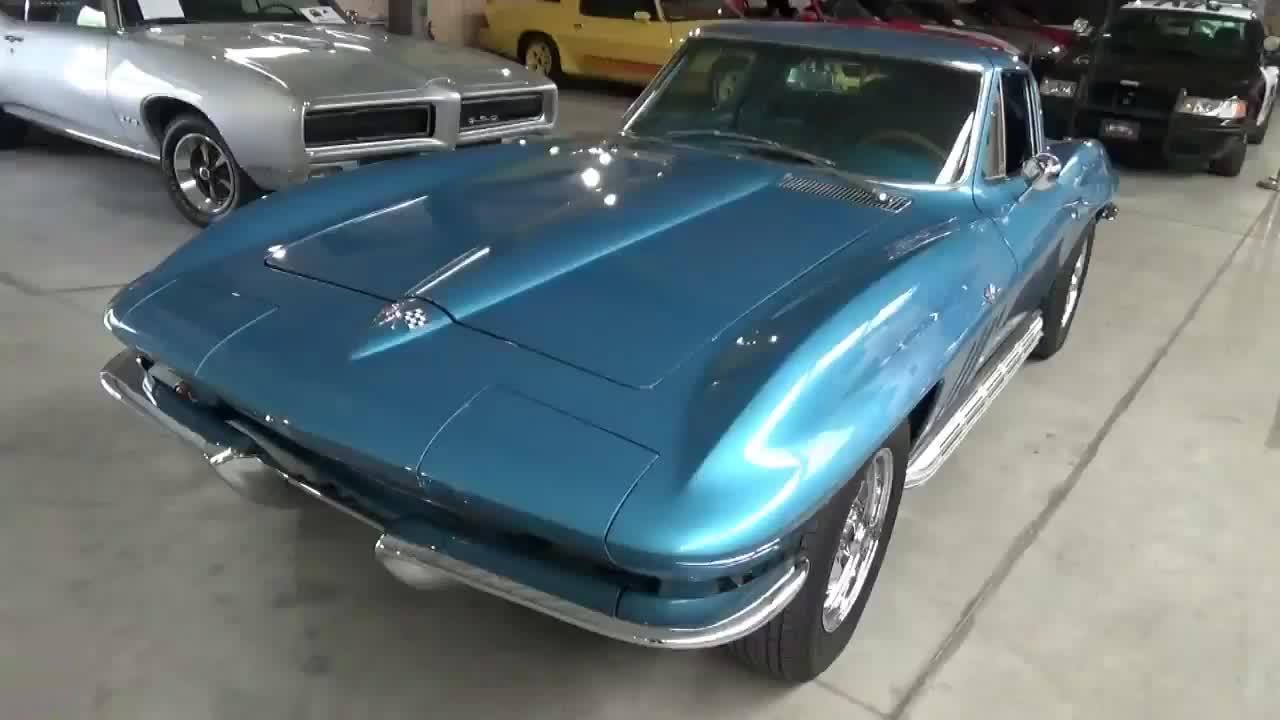 1965款 雪佛兰 科尔维特 C2 Sting Ray Coupe