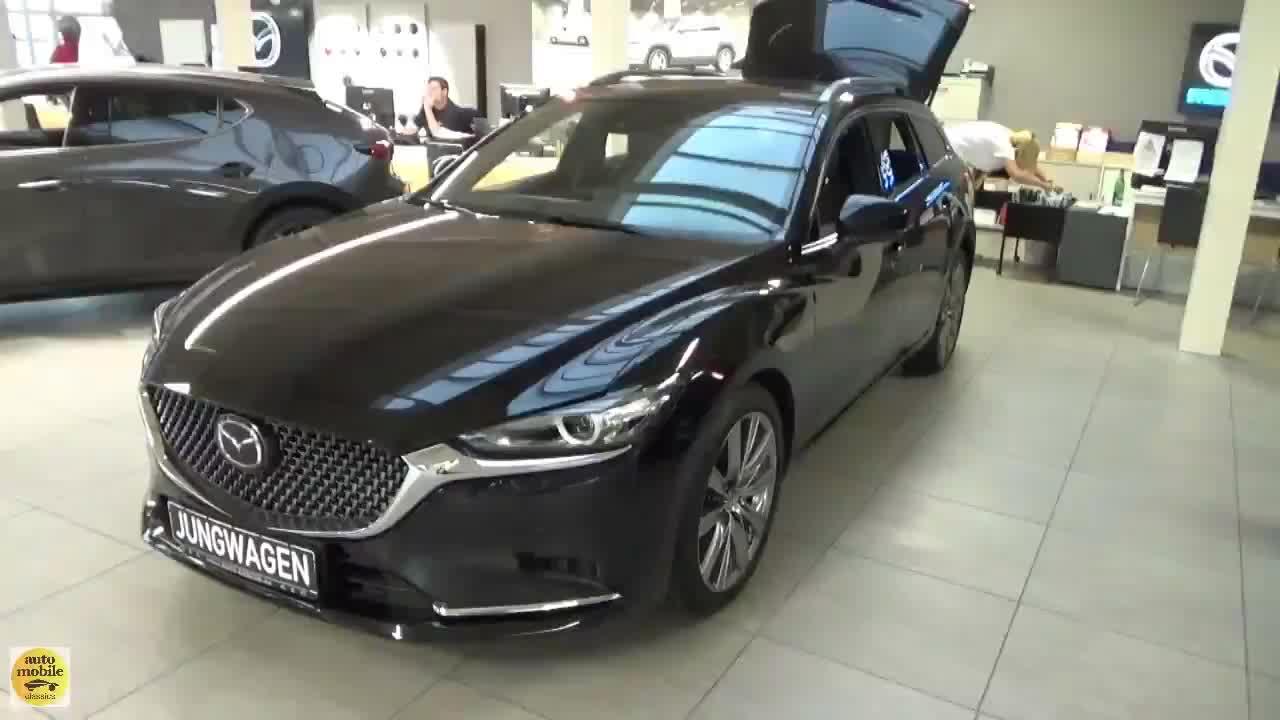 视频:2020款马自达6FWD到货,全方位了解外观内饰,给个不买的理由!