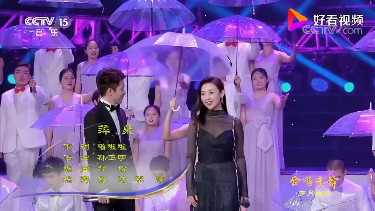 经典情歌对唱《萍聚》,70后KTV必点金曲,还是老歌好听!