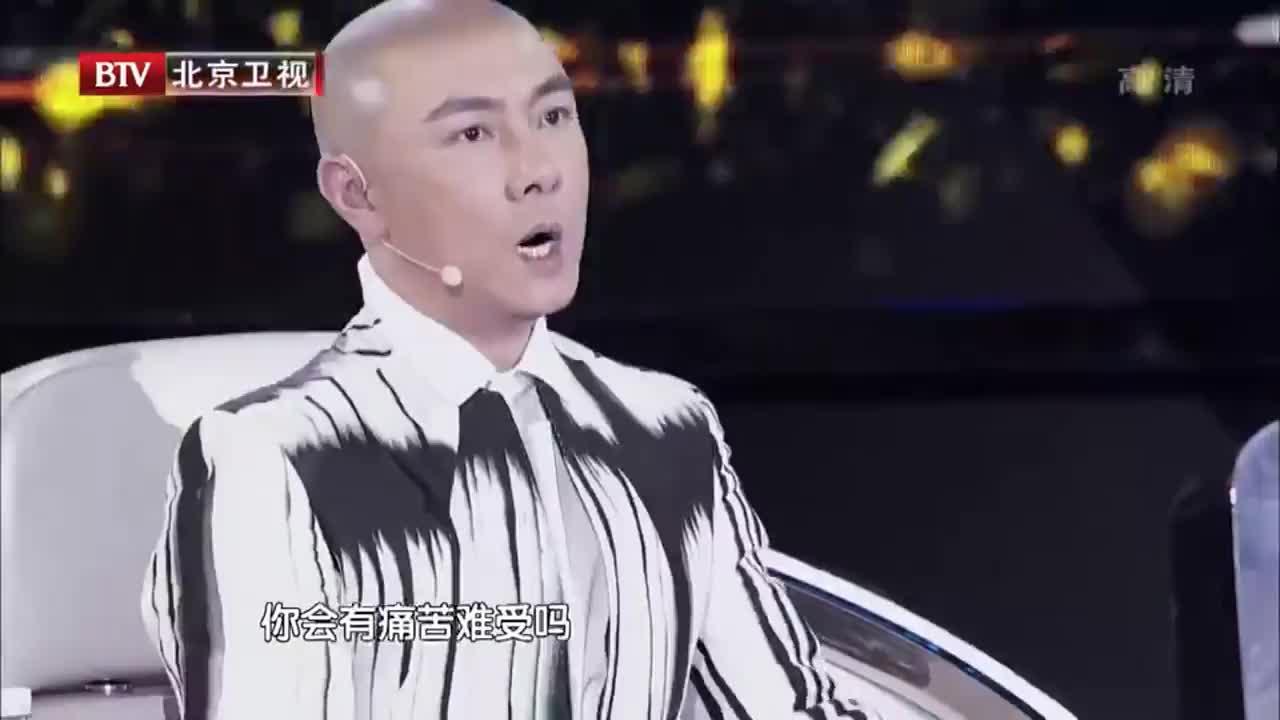 我是演说家:张卫健自爆光头原因,背后的辛酸只有自己知道