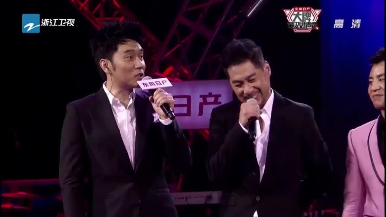 遇见好声音:文章邹宏宇即兴演唱爵士,这模切的和声太棒了!