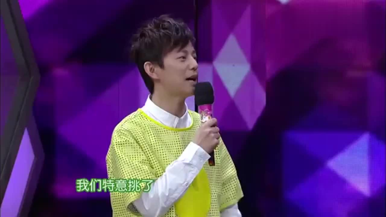 杜海涛首次与谢娜合唱,一曲爱的供养,谢娜有如五雷轰顶