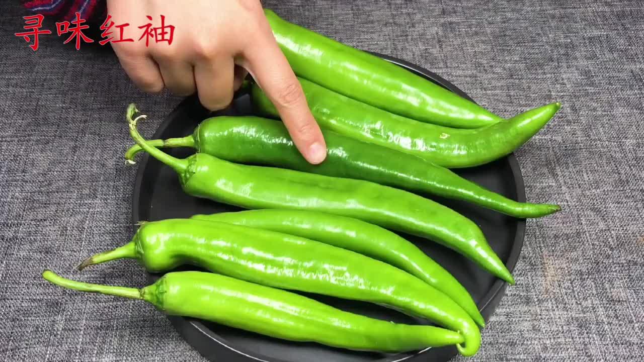 买青椒怎么区分辣和不辣的只需一招一挑一个准