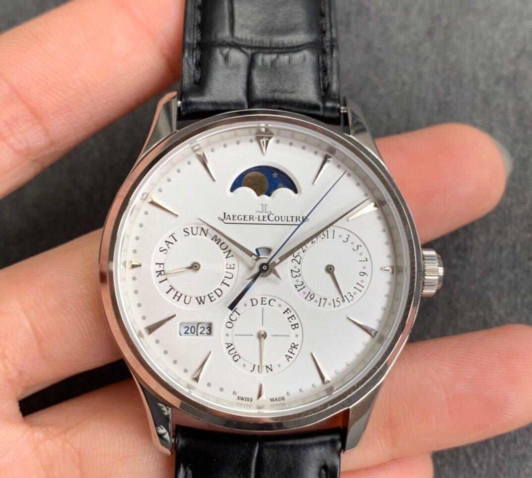 V9积家大师系列复杂功能万年历腕表,正装休闲都完美搭配