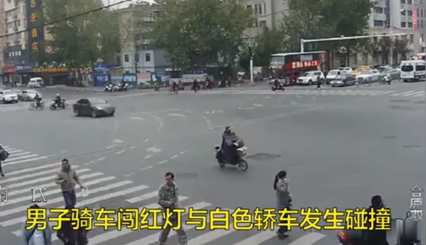 自行车闯红灯酿惨剧,现场惨不忍睹,交警:你是主责