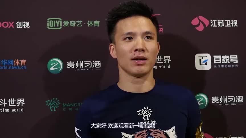 中国小将一个霸气裸绞,完美诠释王者归来,全程仅用79秒就KO