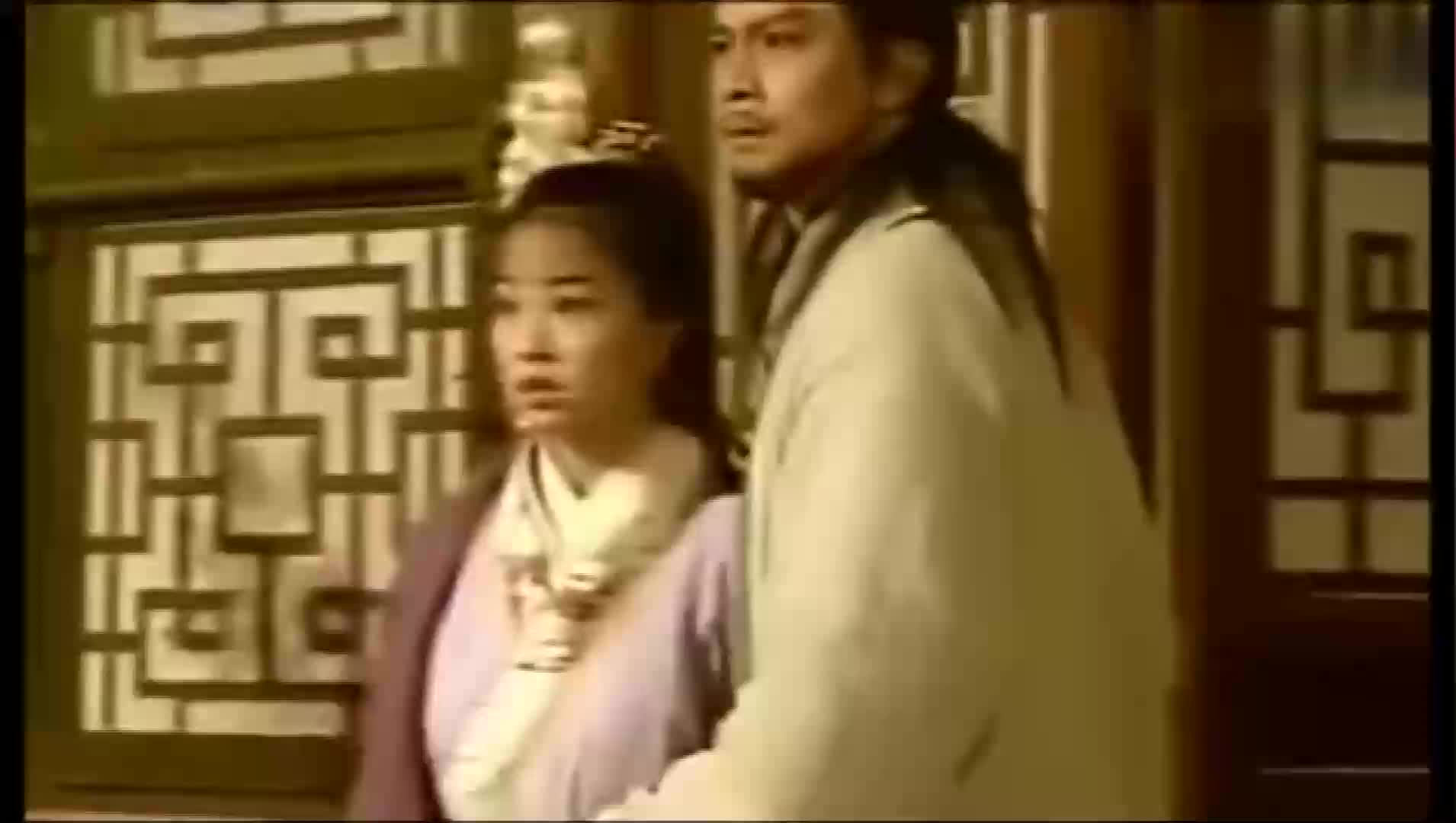 黄日华版《天龙八部》太霸气了!我乔峰想走,你们谁能抵挡