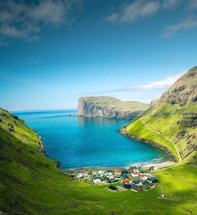 美丽的法罗群岛,景色是不一样的美呀。