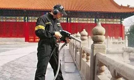 清洗故宫的高压水枪有多厉害?看完清洗过程后,真是被惊艳到了!