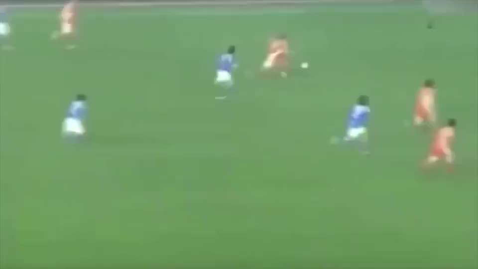 中国足球唯一的一次对日本足球具有压倒性的气势