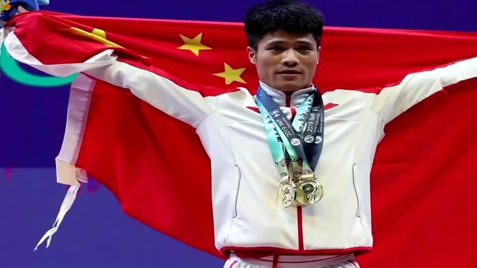 李发彬举重世锦赛包揽三项冠军 破总成绩和抓举两世界纪录