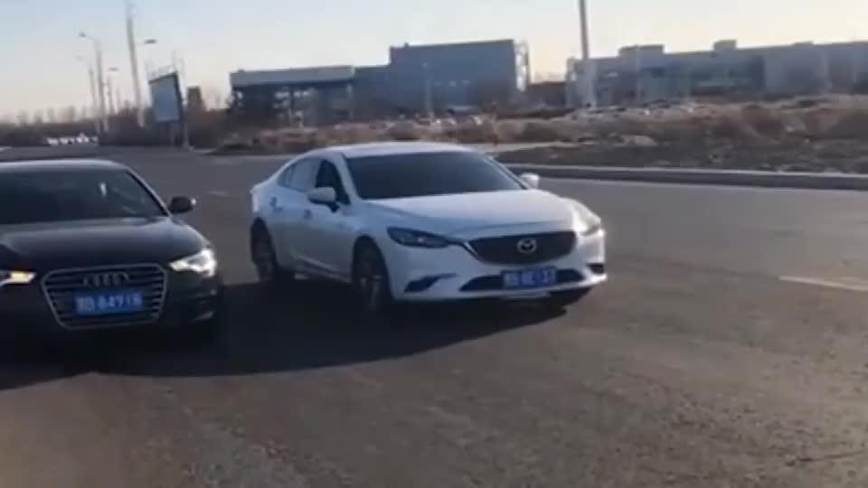 视频:奥迪嫌宝马7系开太慢,不是拍下没人会信!