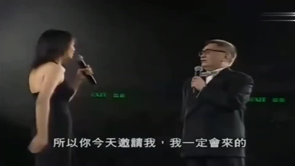 黄霑开演唱会,郑裕玲做嘉宾,原来嘟嘟姐也是霑叔的学生